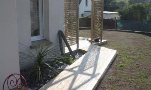 Création de terrasse composite Belz